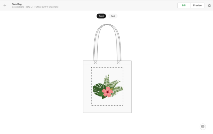 how to create a pod totebag