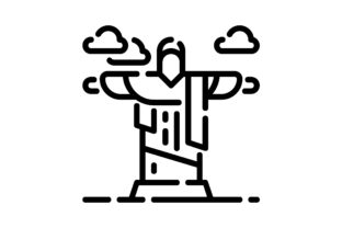 Print on Demand: Monuments Graphic Icons By khld939