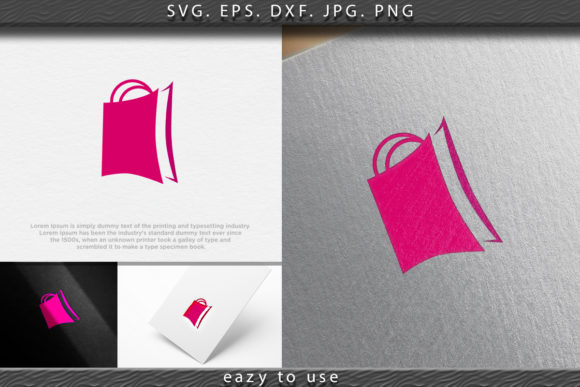 Download Free Shopping Bag Online Shop Logo Ideas In Graphic By Ojosujono96 for Cricut Explore, Silhouette and other cutting machines.
