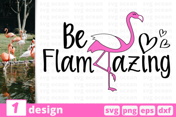 Download Free 1 Be Flamazing Summer Svg For Cricut Graphic By Svgocean SVG Cut Files