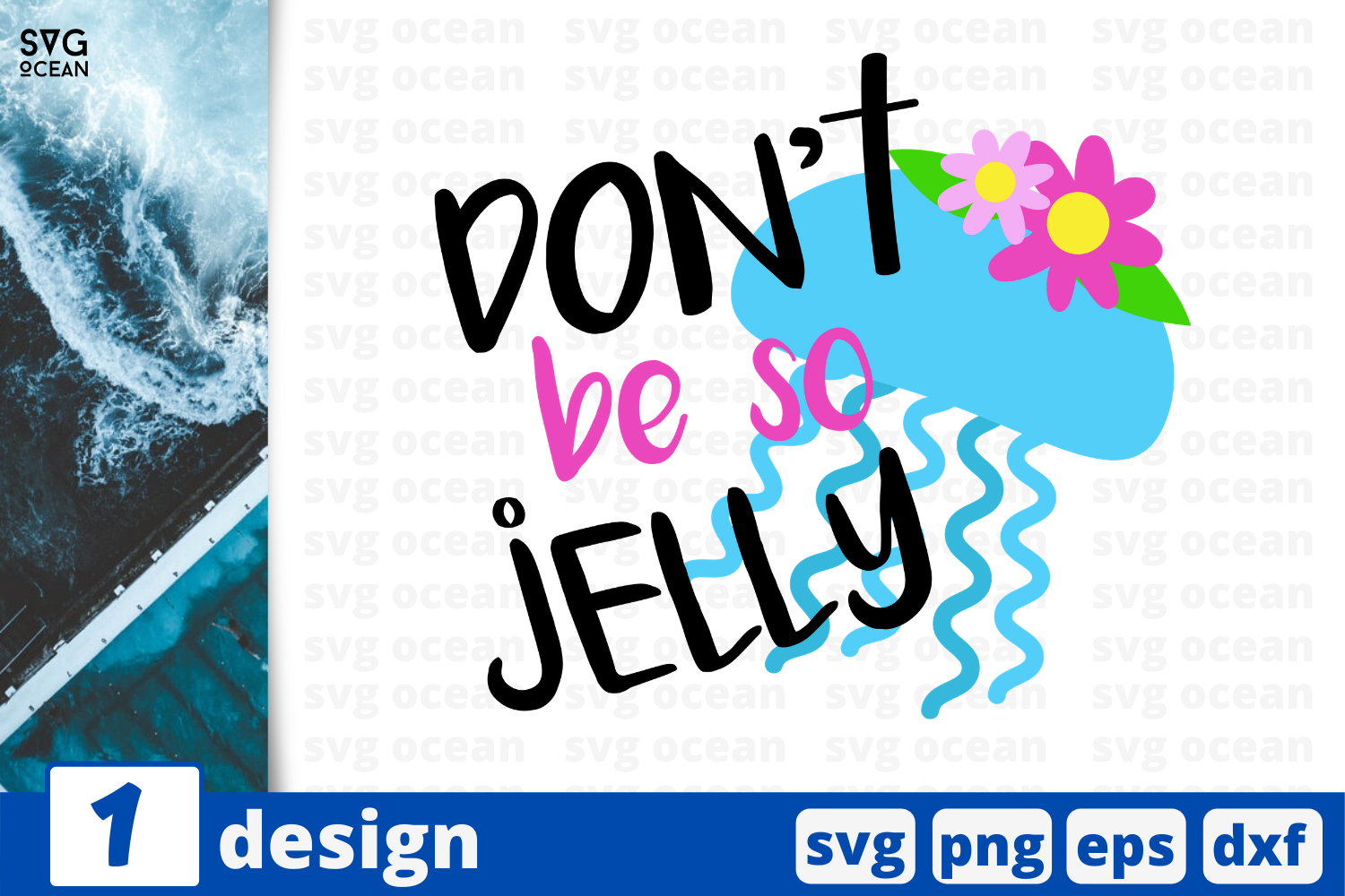 Download Free 1 Don T Be So Jelly Summer Svg Cricut Graphic By Svgocean for Cricut Explore, Silhouette and other cutting machines.