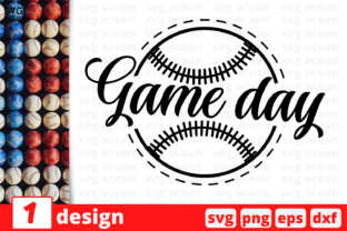 Download Free Game Day Graphic By Svgocean Creative Fabrica for Cricut Explore, Silhouette and other cutting machines.