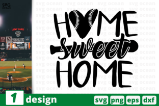 Download Free Home Sweet Home Graphic By Svgocean Creative Fabrica for Cricut Explore, Silhouette and other cutting machines.