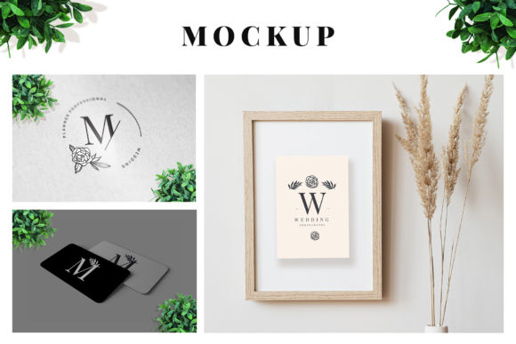 Print on Demand: 25 Elegant Logos + 3 Quality Mockups Graphic Logos By hai hai - Image 2