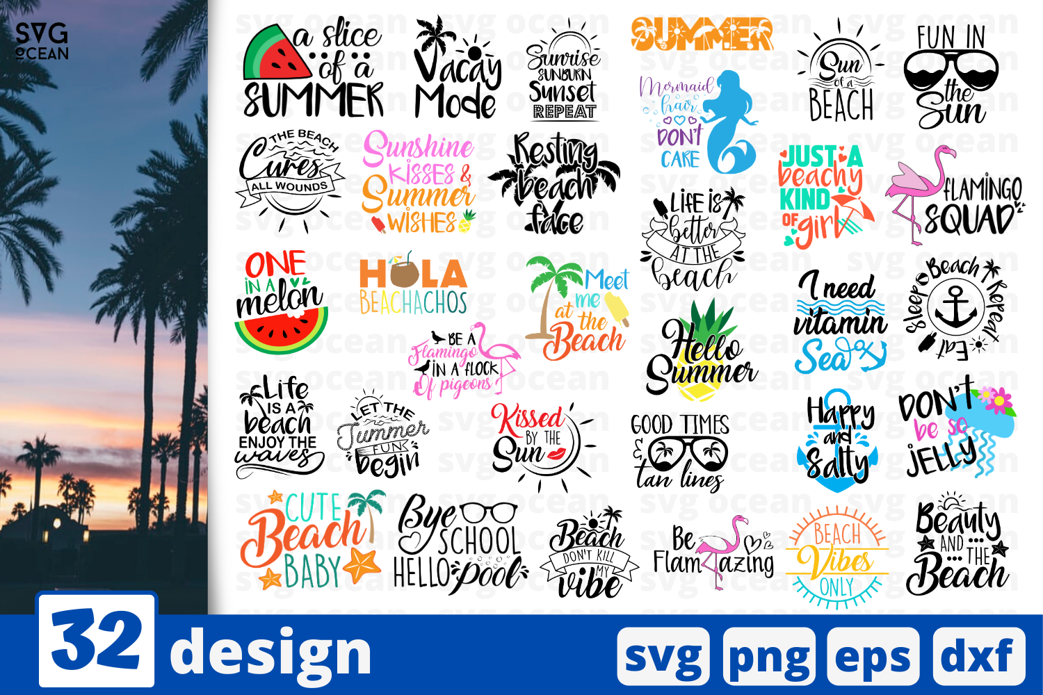 Download Free 32 Summer Quotes Svg For Cricut Graphic By Svgocean Creative for Cricut Explore, Silhouette and other cutting machines.