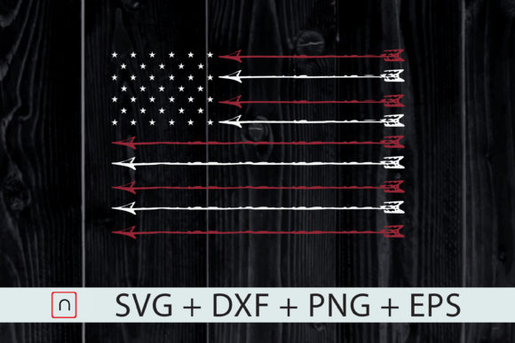 Download Free 4th Of July Archer Bow Hunting Hunter Graphic By Novalia SVG Cut Files