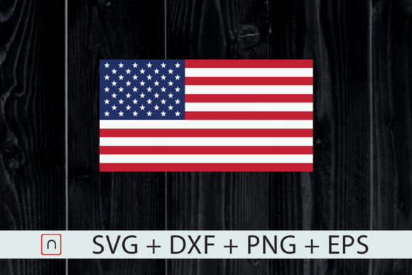Download Free American Flag Usa Patriotic 4th Of July Graphic By Novalia for Cricut Explore, Silhouette and other cutting machines.