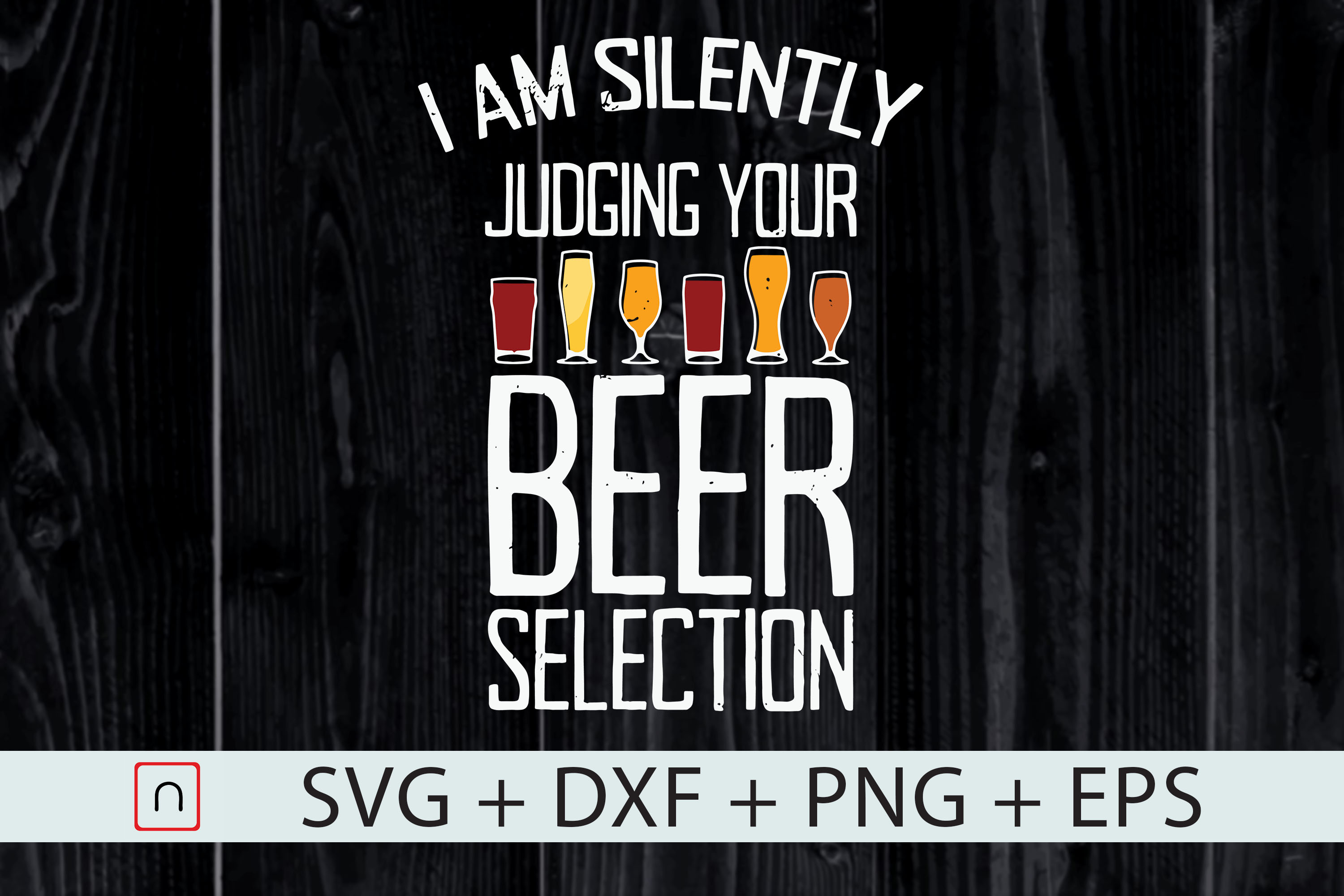 Download Free Beer Drinking Silently Judging Beer Snob Graphic By Novalia for Cricut Explore, Silhouette and other cutting machines.