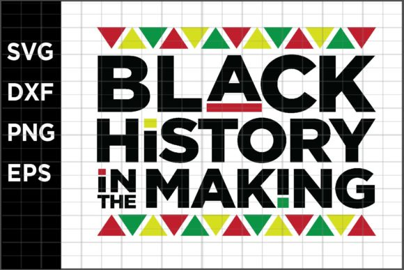 Download Free Black History Making Graphic By Spoonyprint Creative Fabrica for Cricut Explore, Silhouette and other cutting machines.