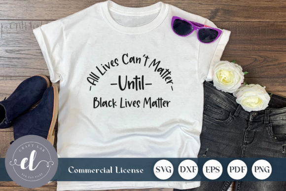 Download Free Black Lives Matter Quote Graphic By Craftlabsvg Creative Fabrica for Cricut Explore, Silhouette and other cutting machines.