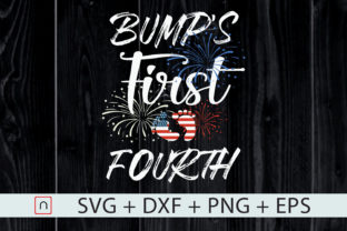 Download Free Bump S First Pregnancy Annoucement Graphic By Novalia Creative for Cricut Explore, Silhouette and other cutting machines.
