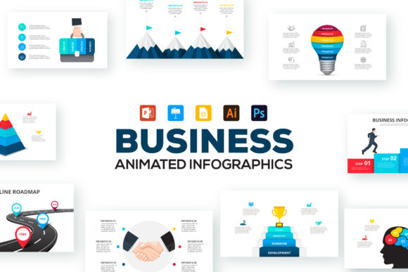 Business Infographic Presentations Graphic Presentation Templates By Infostore