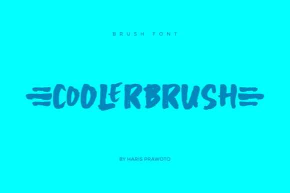 Download Free Coolerbrush Font By Harisprawoto Creative Fabrica SVG Cut Files