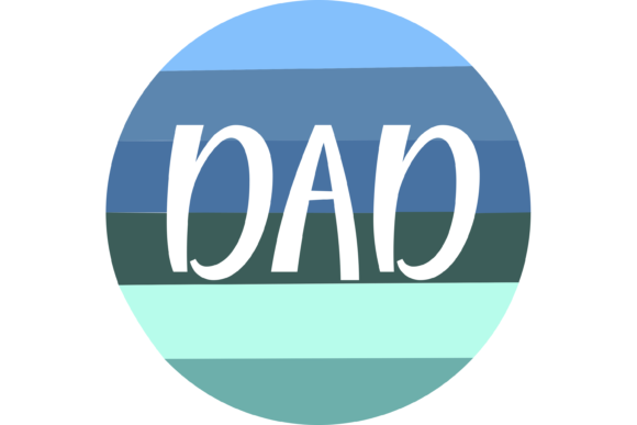 Download Free Dad Customizable Father S Day Files Graphic By Am Digital for Cricut Explore, Silhouette and other cutting machines.