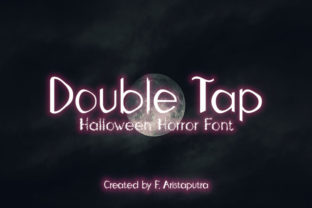 Print on Demand: Double Tap Display Font By Faristaputra