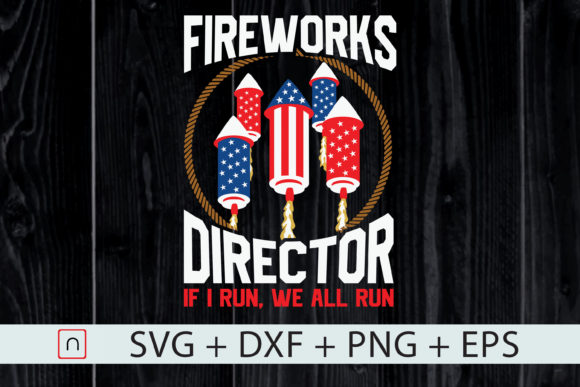 Download Free Firework Director Pyrotechnic Technician Graphic By Novalia SVG Cut Files
