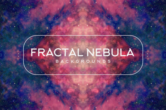 Download Free Fractal Nebula Backgrounds Graphic By Freezerondigital for Cricut Explore, Silhouette and other cutting machines.