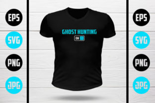 Download Free Ghost Hunting Mode On Graphic By My Creatives Creative Fabrica for Cricut Explore, Silhouette and other cutting machines.