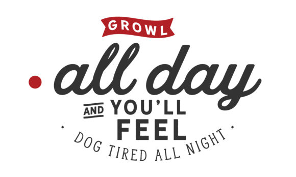 Print on Demand: Growl All Day Graphic Illustrations By baraeiji