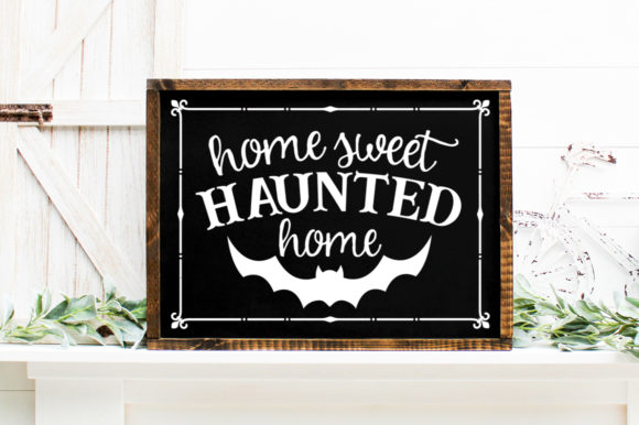 Print on Demand: Halloween Welcome Sign   Graphic Crafts By Simply Cut Co