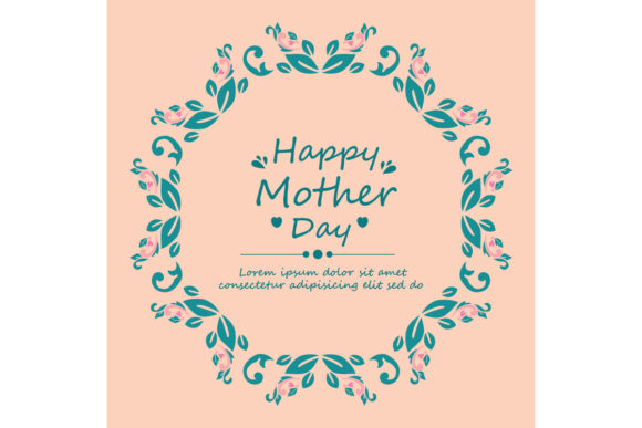 Happy Mother Day Poster Template Design Graphic By Stockfloral