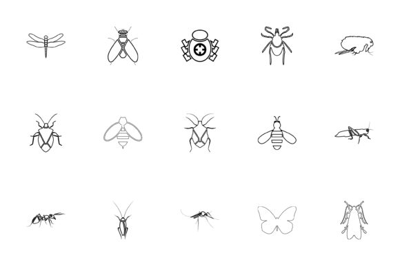 Download Free Wild Animals Black Color Set Solid Style Graphic By Magistr0505 for Cricut Explore, Silhouette and other cutting machines.