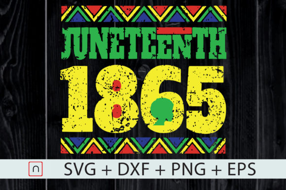 Print on Demand: Juneteenth 1865 Anti 4th of July Graphic Print Templates By Novalia