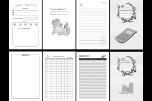 Print on Demand: KDP Ultimate Bundle 200 Unique Interiors Graphic KDP Interiors By Mastery Templates 3