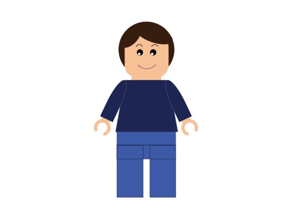 Download Free Lego Avatar Mother Casual Clothes Graphic By White Vanilla for Cricut Explore, Silhouette and other cutting machines.
