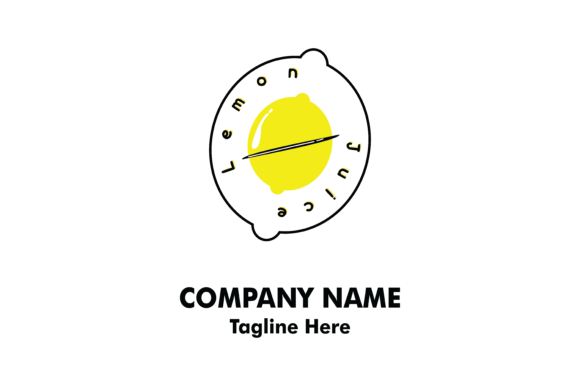 Download Free Lemon Fresh Company Logo Vector Graphic By Yuhana Purwanti for Cricut Explore, Silhouette and other cutting machines.