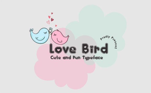 Download Free Love Bird Font By Jk Creative Creative Fabrica for Cricut Explore, Silhouette and other cutting machines.