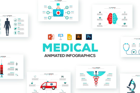 Medical Animated Infographics Graphic Presentation Templates By Infostore