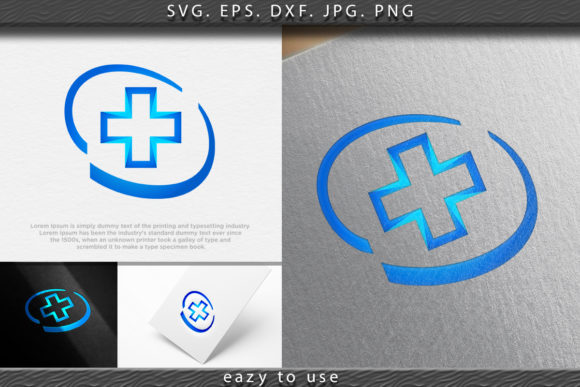 Print on Demand: Medical Pharmaceutical - Logo Ideas Graphic Logos By ojosujono96