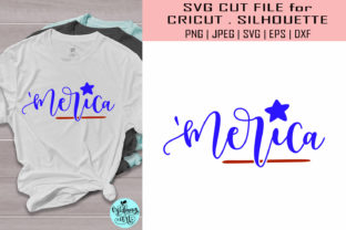 Download Free Merica 4th Of July Graphic By Midmagart Creative Fabrica for Cricut Explore, Silhouette and other cutting machines.