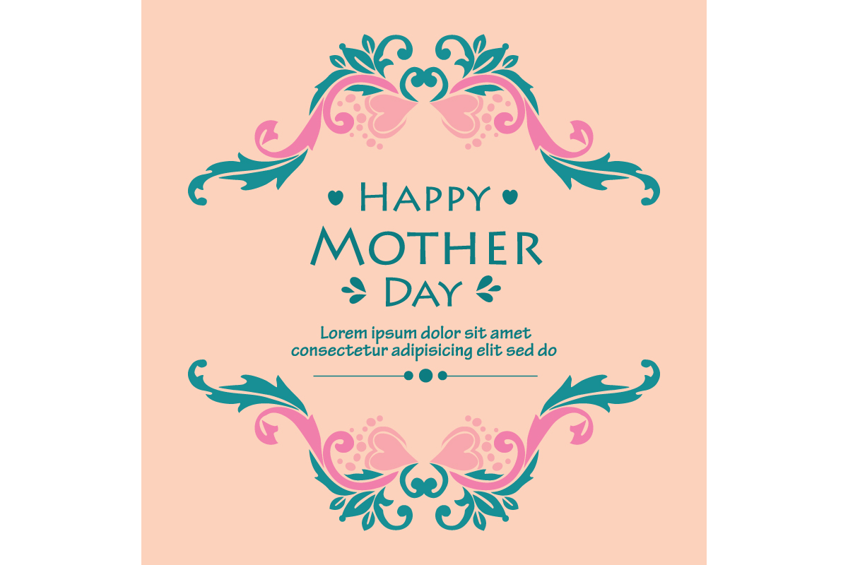 Modern Happy Mother Day Poster Design Graphic By Stockfloral