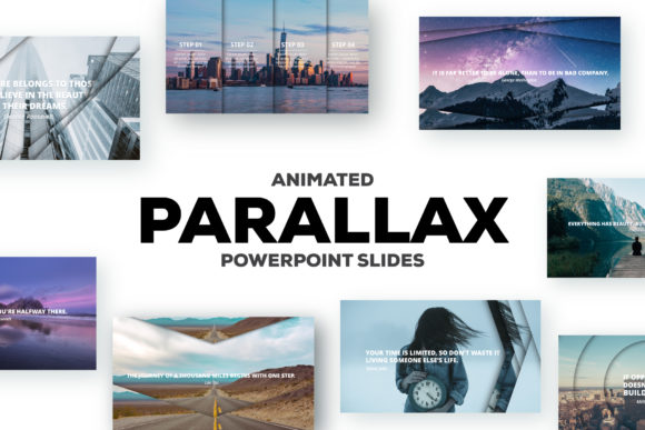 Download Free Parallax Effect Powerpoint Slides Graphic By Infostore for Cricut Explore, Silhouette and other cutting machines.
