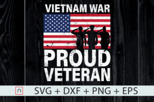 Download Free Proud Vietnam War Veteran Military Graphic By Novalia Creative for Cricut Explore, Silhouette and other cutting machines.