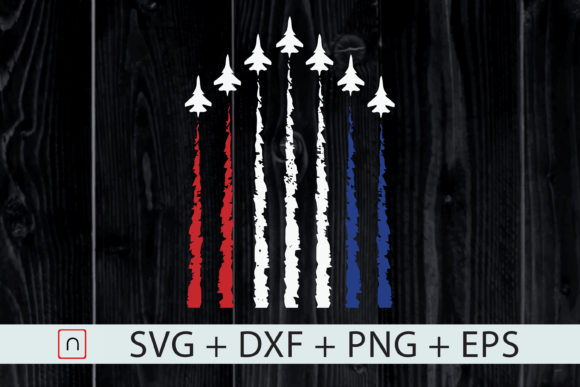 Download Free Red White Blue Air Force Proud American Graphic By Novalia for Cricut Explore, Silhouette and other cutting machines.