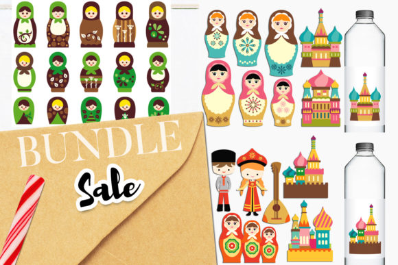 Print on Demand: Russiann Culture Bundle Graphic Illustrations By Revidevi