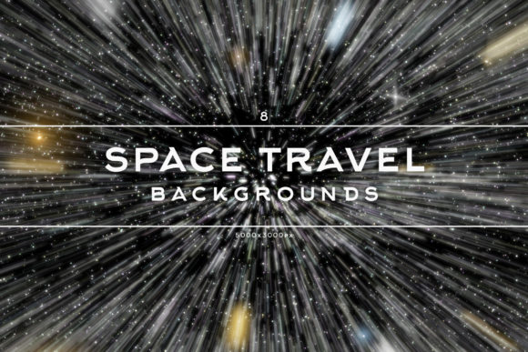 Print on Demand: Space Travel Backgrounds Graphic Backgrounds By freezerondigital