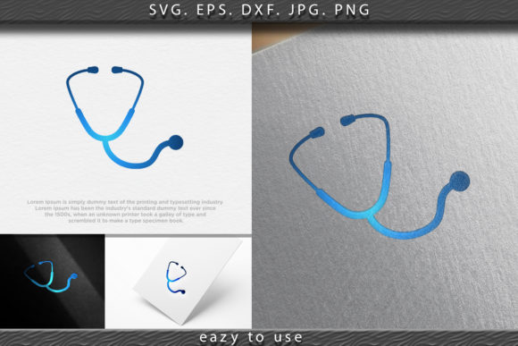 Download Free Stethoscope Icon Medical Health Care Graphic By Ojosujono96 SVG Cut Files