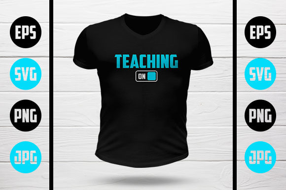 Download Free Teaching Mode On Graphic By My Creatives Creative Fabrica for Cricut Explore, Silhouette and other cutting machines.