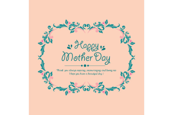 Template Design For Happy Mother Day Graphic By Stockfloral