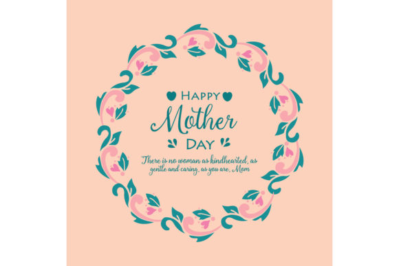 Template Design for Happy Mother Day Graphic Backgrounds By stockfloral