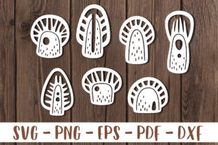 Download Free Tree Papercut Template Bundle Graphic By Greenwolf Art for Cricut Explore, Silhouette and other cutting machines.