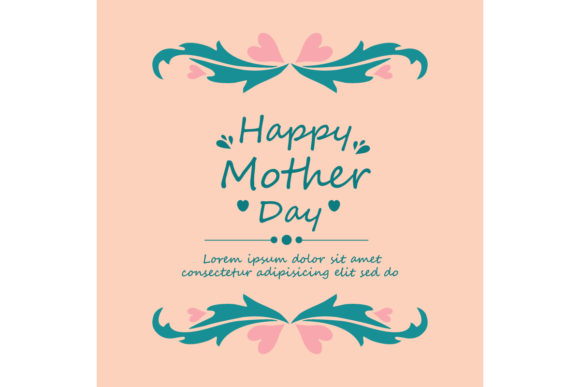 Unique Happy Mother Day Card Design Graphic By Stockfloral