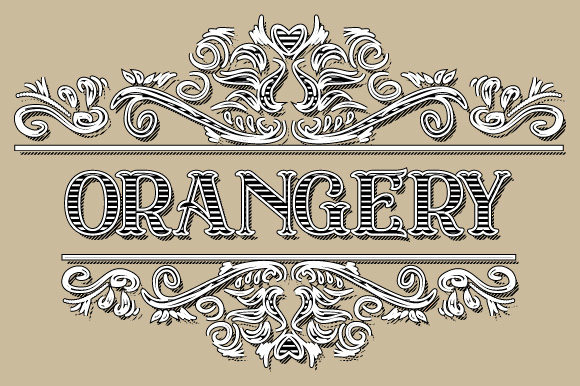 Download Free Vintage Orangery Ornament Frame Vector Graphic By Graphicsfarm for Cricut Explore, Silhouette and other cutting machines.