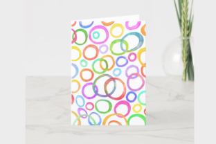 Print on Demand: Watercolor Ink Doodle Pattern Papers Graphic Backgrounds By Prawny 7