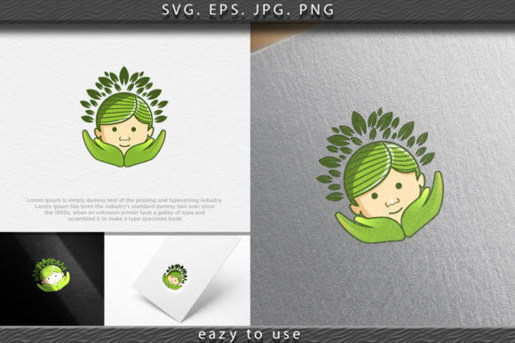 Download Free Child Care And Tree Logo Ideas Inspirat Graphic By Ojosujono96 for Cricut Explore, Silhouette and other cutting machines.