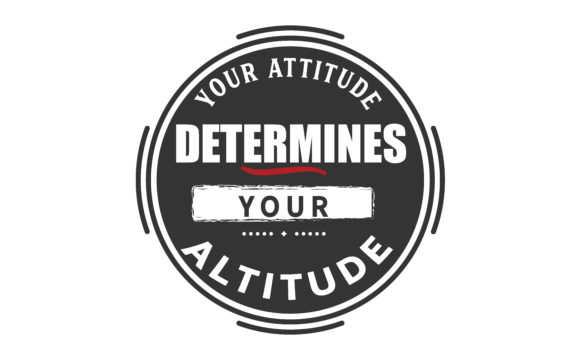 Print on Demand: Determines Your Altitude Graphic Illustrations By baraeiji